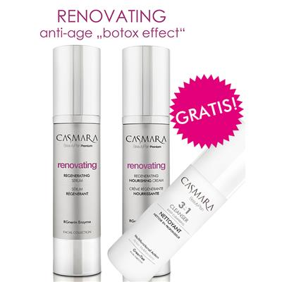 RENOVATING SERUM & KREMA & GRATIS ČISTILO